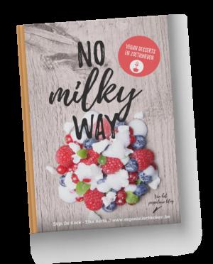 No milky Way - vegan desserts - hardcover boek