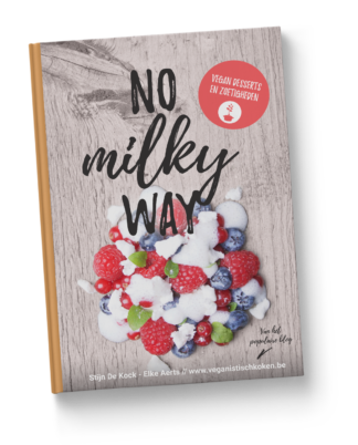 No milky Way - vegan desserts - hardcover boek