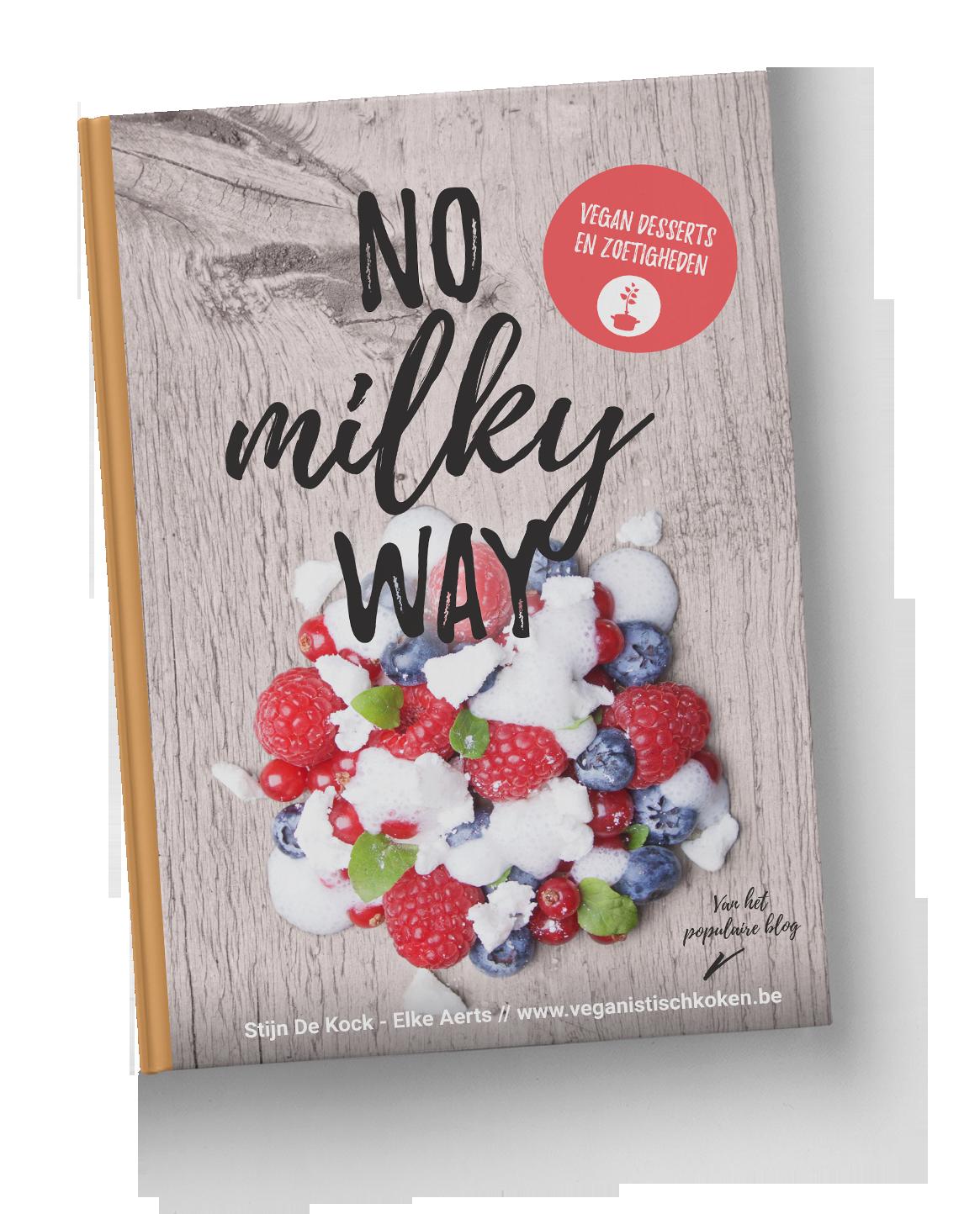 No milky way vegan desserts hardcover boek for Vegan boek