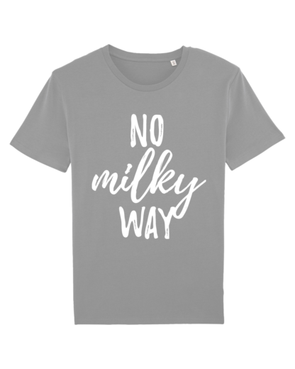 No Milky Way - vegan tshirt heren opal