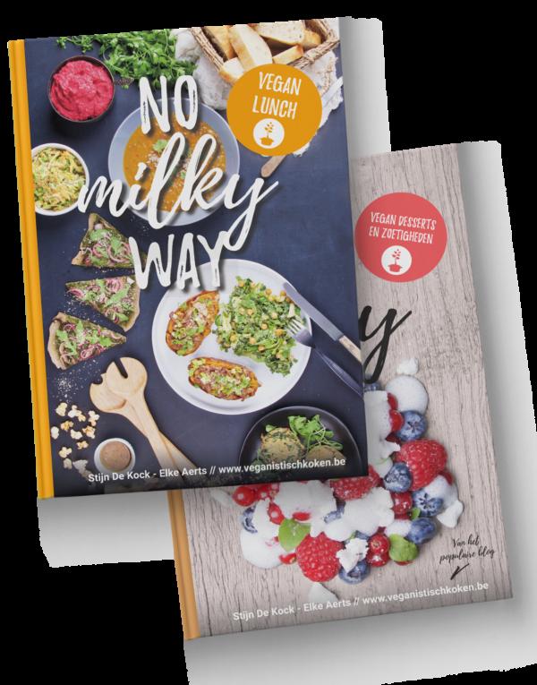 NO milky way - vegan desserts en vegan lunch - bundel