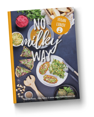 No milky way 2 - vegan lunch - hardcover boek