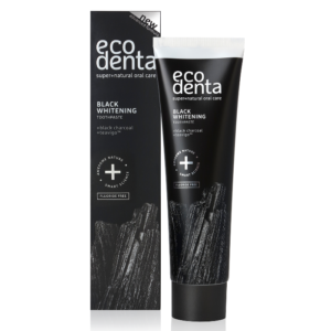 ecodenta whitening black - vegan tandpasta