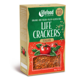 lifefood crackers italiaans