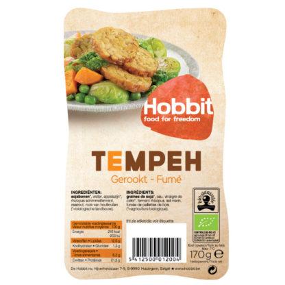 Gerookte tempeh Hobbit - biologisch